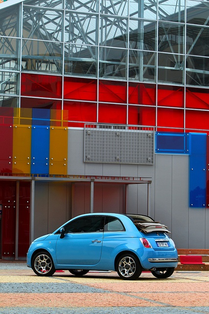Fiat #500C TwinAir: #Design #colors, #technology. Simply beautiful!