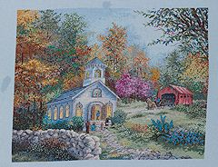 Bucilla ® Counted Cross Stitch - Picture Kits - Worship in the Country