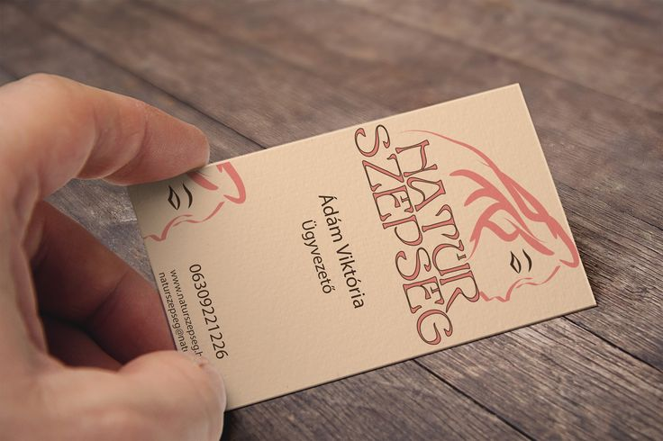 Cosmetics business card