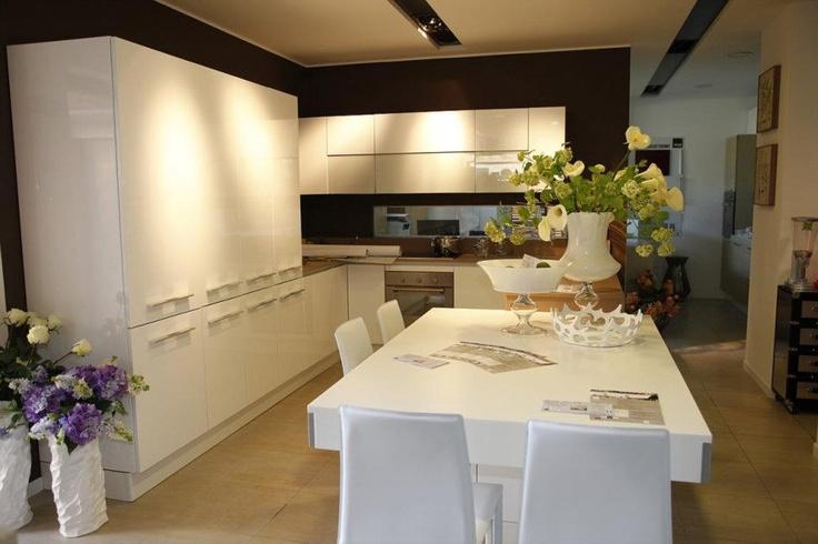 Cucina Aran in esposizione presso Naquda - Pesaro (Italy)