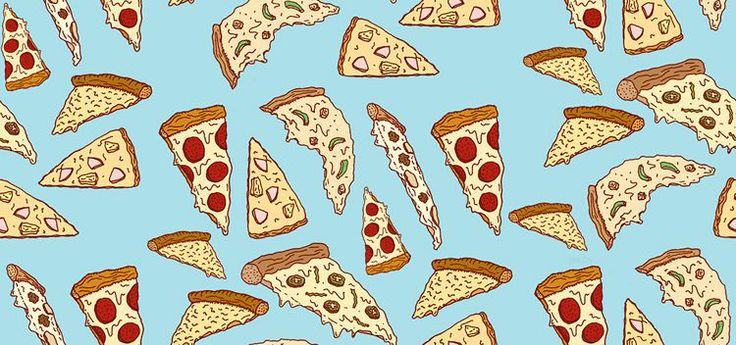 repeating pizza background - photo #27