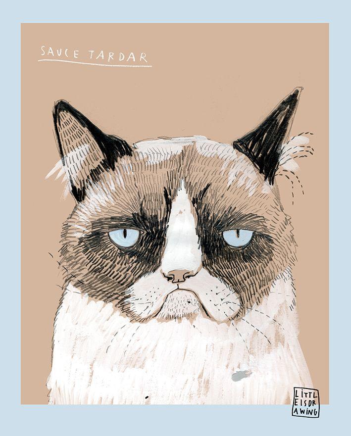 grumpy cat wedding invitations%0A Carla Fuentes   grumpy cat  my hero