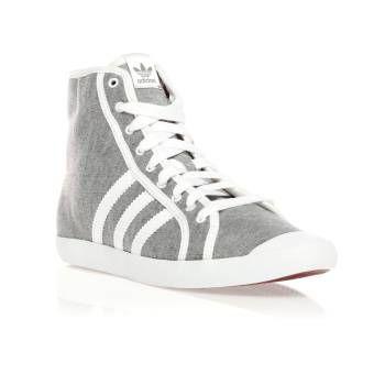 baskets-Adidas-montante-grise