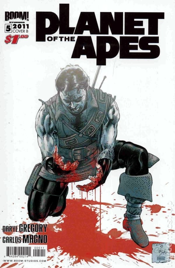 Planet of the Apes (2011 Boom Studios) 5B