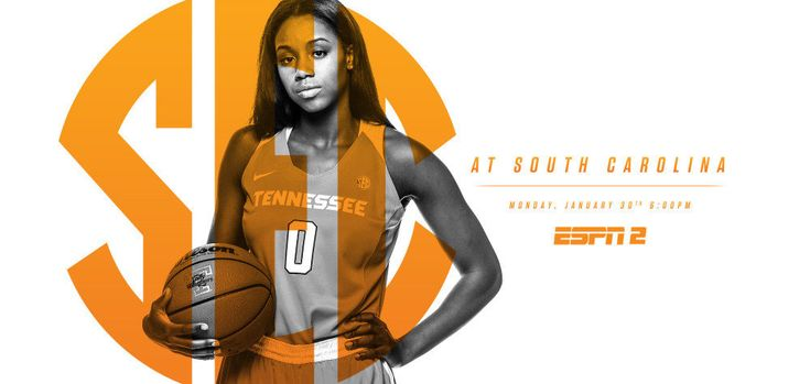 Tennessee Lady Vols travels to #5/4 South Carolina Gamecocks, Monday