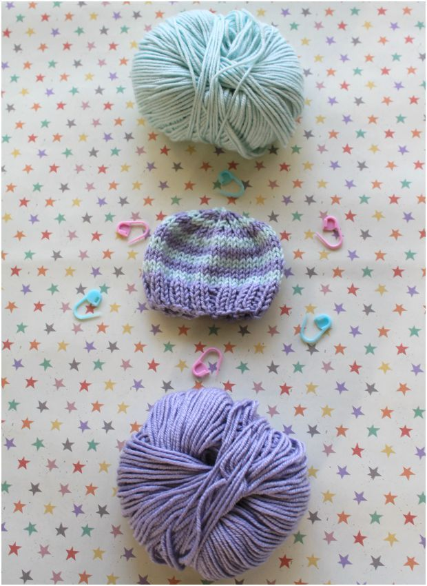 Perfect preemie baby hat knitting pattern on Knit by Bit, only at LoveKnitting!