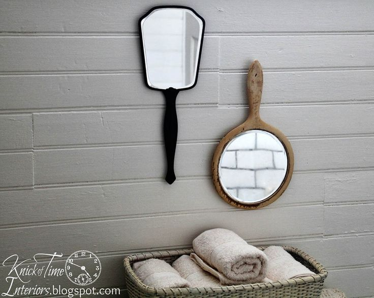 Vintage Hand Mirrors Wall Decoration