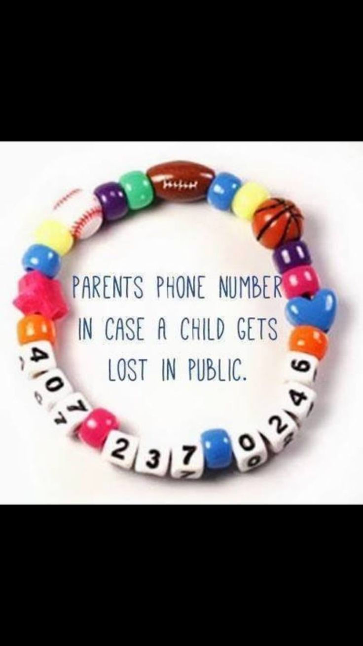 What does my phone number spell - Best 25 Phone Number Bracelet Ideas On Pinterest Kids Bracelets Kids Safety And Parenting Hacks