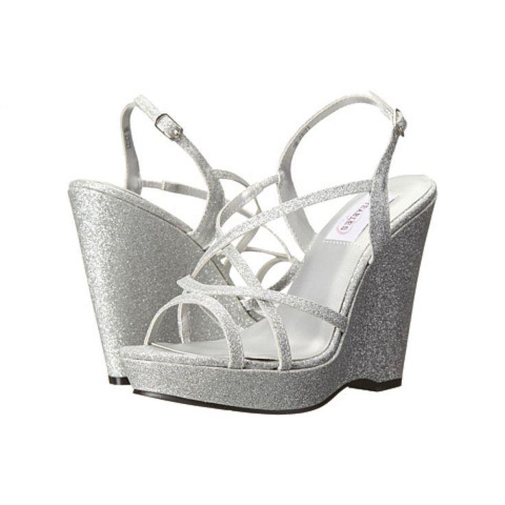 40 best Wedge Bridal Shoes images on Pinterest | Wedding wedges ...