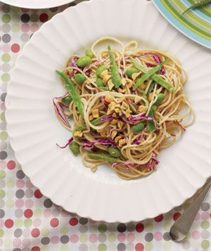 Get the recipe for Peanut Noodles With Edamame.