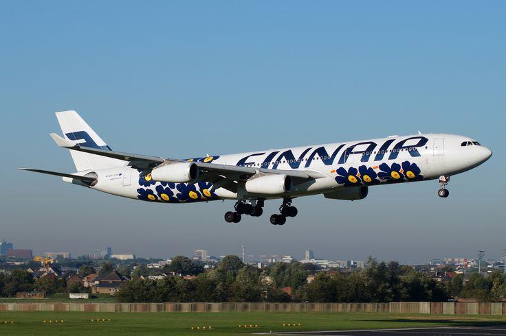 Finnair Airbus A340-313 (Unikko Livery)