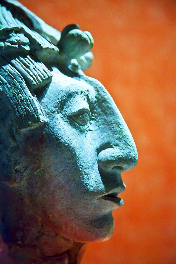 Mayan Sculpture, Mexico. Visitar museos.
