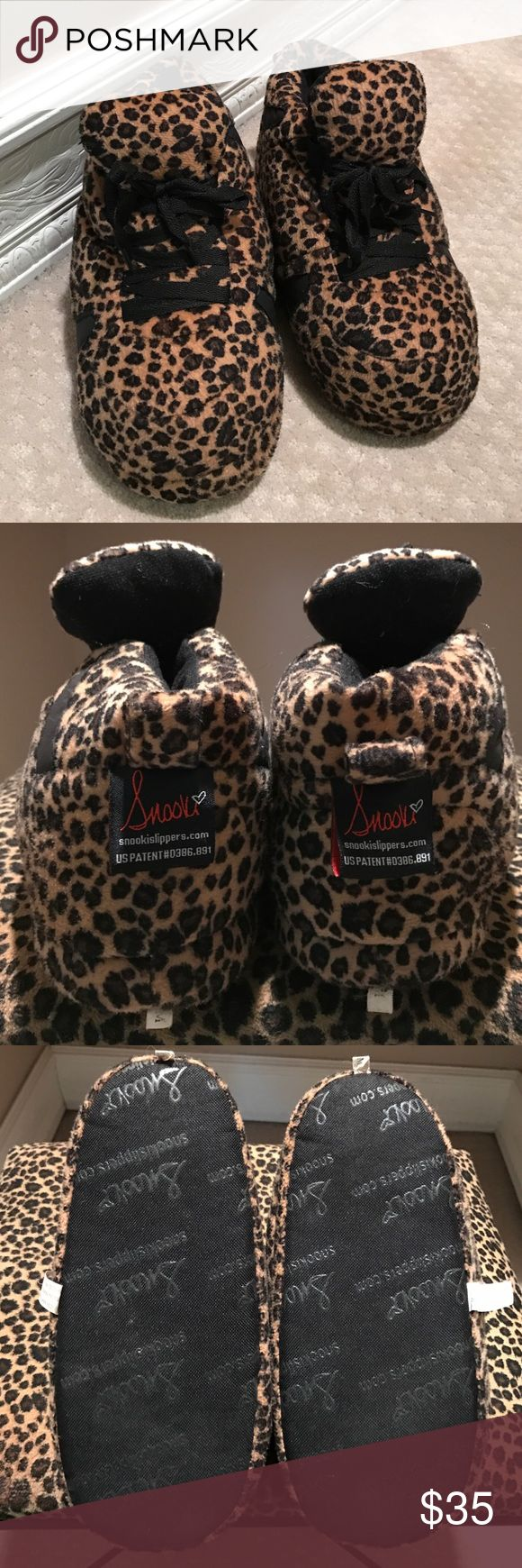 Snooki Animal Print Slippers Snooki Animal Print Slippers. Only worn once. In excellent condition. Snooki Shoes Slippers