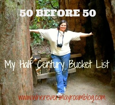 I have less then 3 years to complete my 50 before 50 bucket list of things I hope to see/do/experience before turning half century old. Cheer me on!