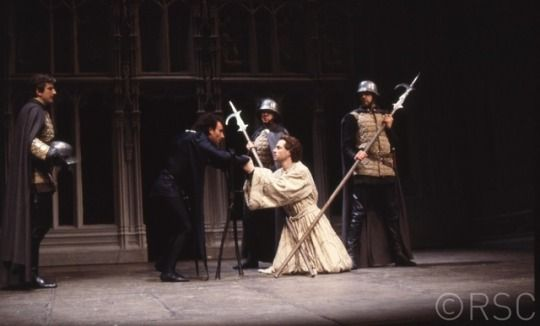 Roger Allam as Clarence in Richard III, RSC, 1984
