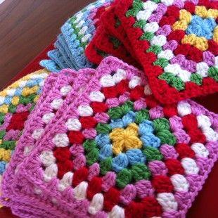 Colorful Blanket motif