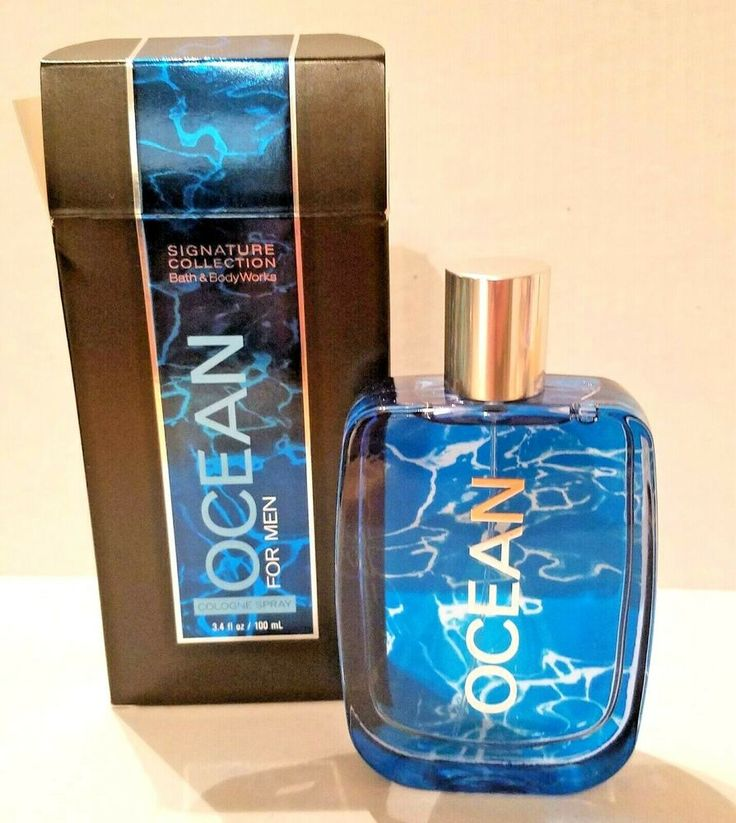 Bath and body works 34 ounce ocean cologne spray for men