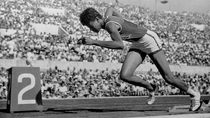 Wilma Rudolph was stricken with polio as a child but went on to set Olympic records in track and field.