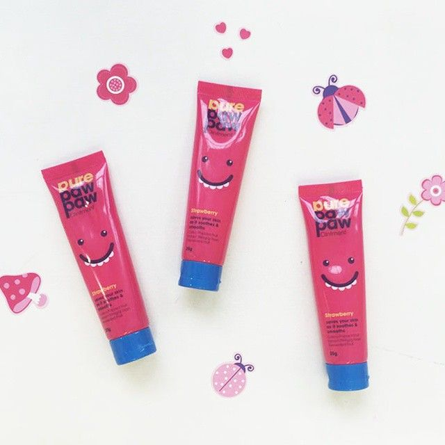 Pink passion! #purepawpaw #pawpaw #beauty #love #cute