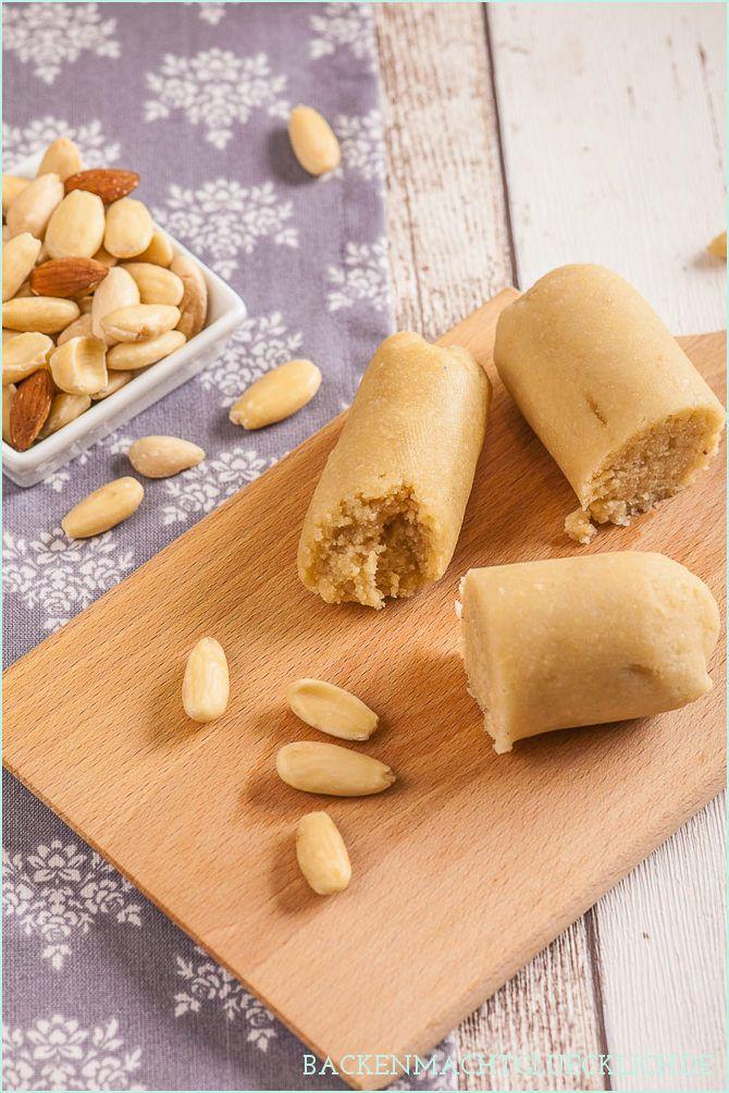 Tipps und Rezept für selbstgemachtes Marzipan in drei Varianten: Klassisches Marzipan mit Puderzucker, Marzipan mit Honig sowie Marzipan ohne Zucker