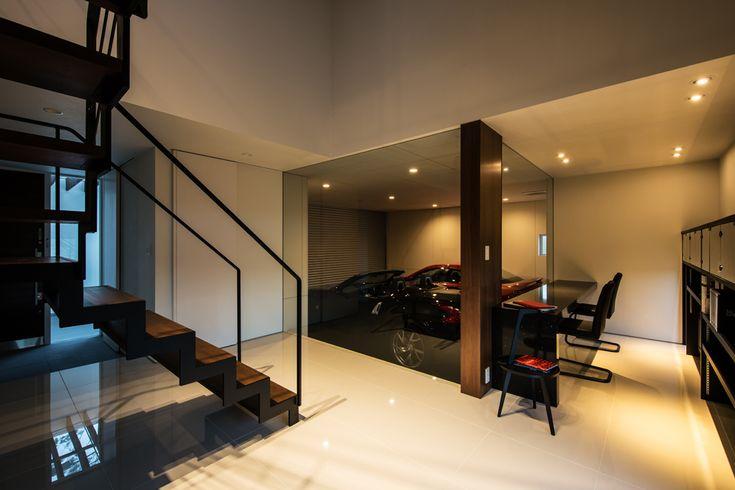 和歌山のガレージハウス