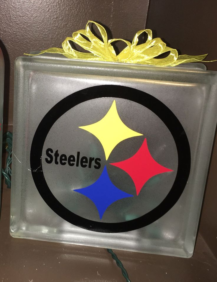 A personal favorite from my Etsy shop https://www.etsy.com/listing/481716164/pittsburgh-steelers-lighted-glass-block