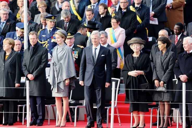 King Philippe and Queen Mathilde attends Ypres commemorations