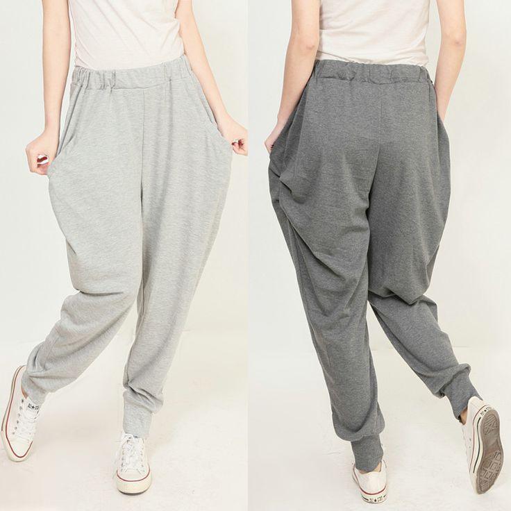 Elegant Linen Pants Women 2013 Summer Plus Size Wide Leg Pants Loose Straight