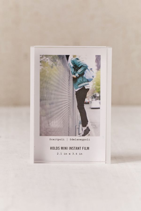 Mini Instax Acrylic Block Frame Modern Picture Frames Instax Frame Frame