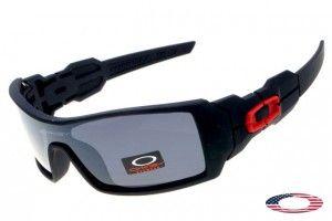Discount Oakley Oil Rig Sunglasses Black / Gray