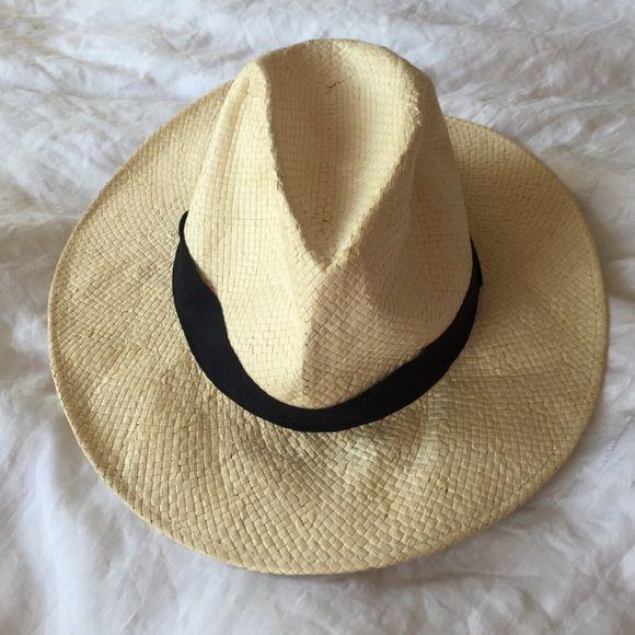 jcrew straw hat classic straw hat J. Crew Accessories Hats