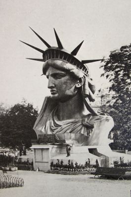 Reference photo for STEAM lesson incorporating engineering and history: Make YOUR Statue of Liberty  (Exposition universelle de Paris: statue de la Liberté.)