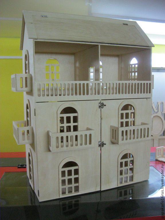 Декупаж и роспись ручной работы. Ярмарка Мастеров - ручная работа Кукольный домик. Handmade.