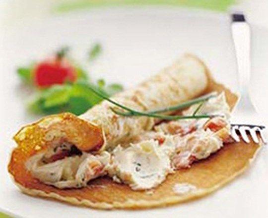 Smoked Trout Pancakes | PHILADELPHIA #recipes #seafoodrecipes