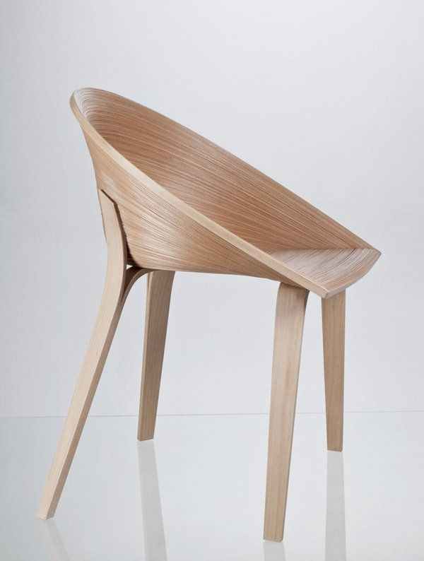 Tamashii, A Dining Chair Inspired By A Japanese Veneer Technique Called  Bunaco, Designed By Czech Industrial Design Student Anna Štěpánková Via Wit  + ... Nice Look