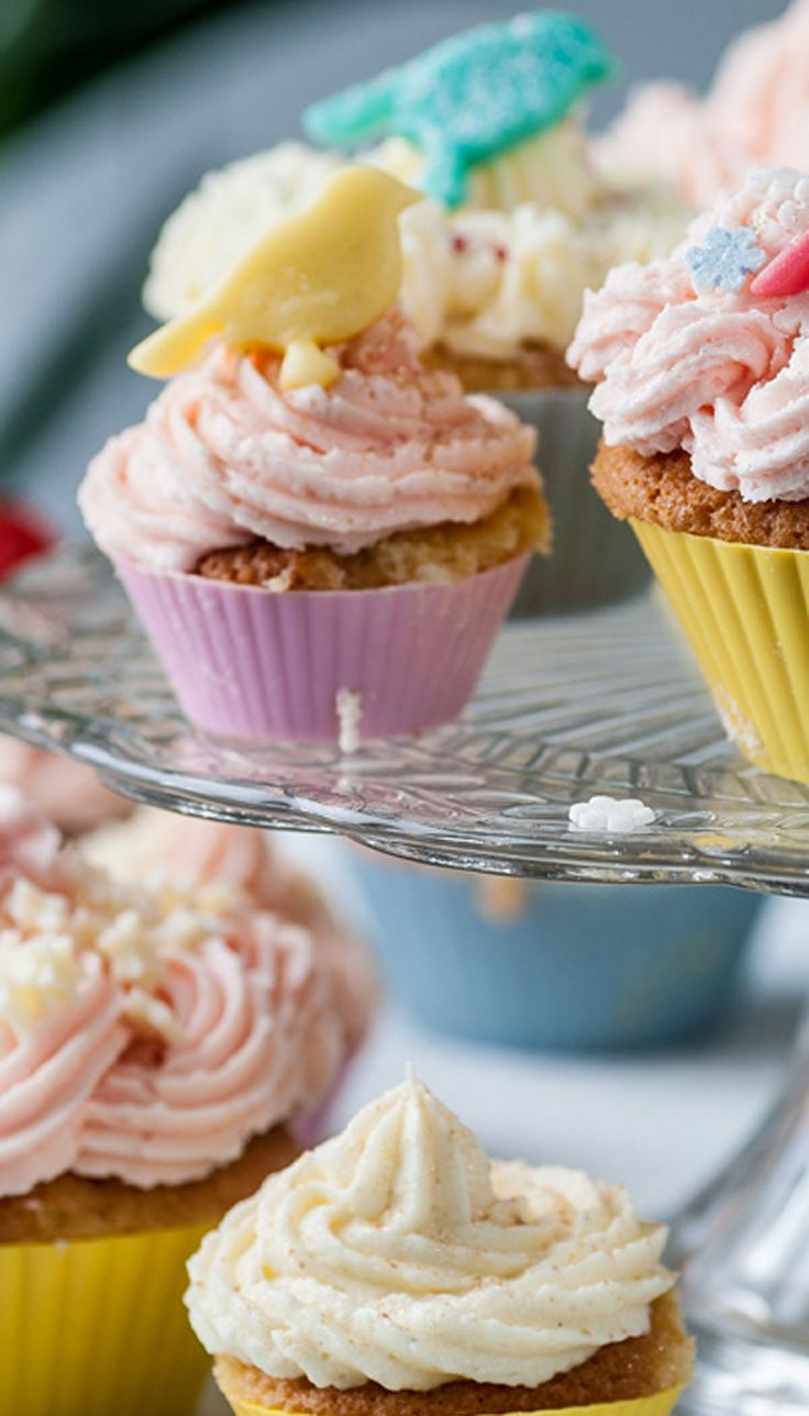 Frances Atkins' lavish fairy cakes will mark a big occasion in style. Get the kids involved and let them get creative with the toppings