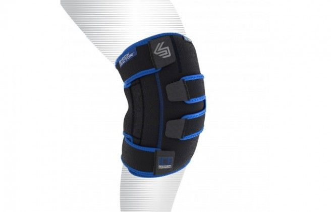The Ice Recovery Knee Compression Wrap is the best! Take it out, strap it on and go about your day. Simple to do, therefore I have no excuses to skip my ice session. — Fara Rosenzweig, contributing writer
