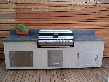 concrete benchtops bbq - Google Search