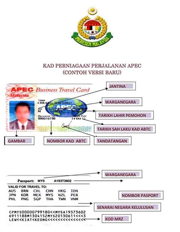 apec business travel card antragsformular nz zusammen mit