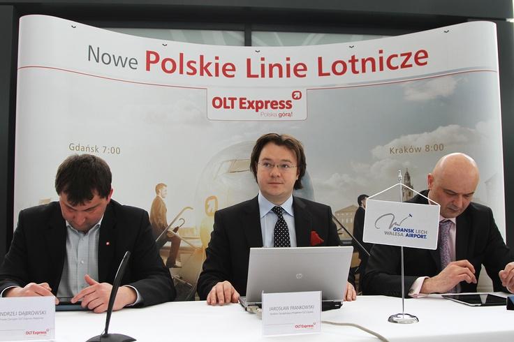 Press conference in Gdańsk