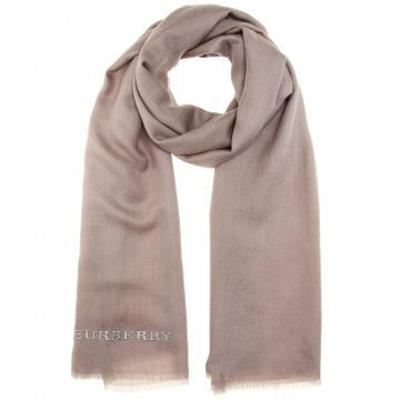 Embroidered cashmere scarf - Şal, Pembe #askmoda #alisverisbirask #burberry #burberryşal #burberryscarf #scarfmodels