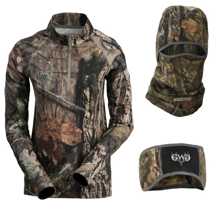 The Girls With Guns Clothing Hunting Accessories were designed with the serious woman hunter in mind.  Designed by women, for women, the GWG line features every accessory a hunter could need, all in Mossy Oak camouflage!