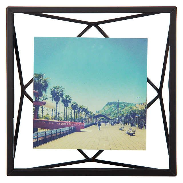 "BuyUmbra Prisma Photo Frame, Black, 4 x 4"" (10 x 10cm) Online at johnlewis.com"