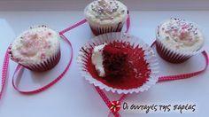 Red velvet cupcakes #sintagespareas