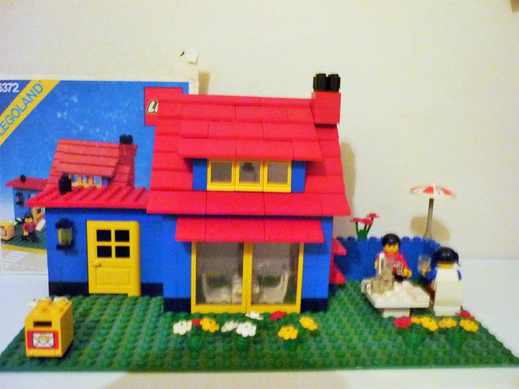 LEGO 6372 - Town House - anno 1982