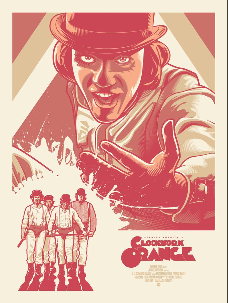 "Paul Ainsworth ""Alex & His Droogs"" - (A Clockwork Orange)"