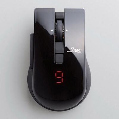Elecom 9nove Bluetooth Mouse For 9 Gadgets At Once