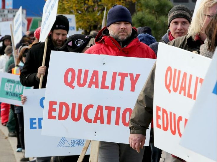 Colleges and striking faculty to return to bargaining Thursday | Ottawa Citizen