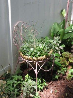 Thrift Store Garden Chair Planter – Hometalk: Summer Inspiration