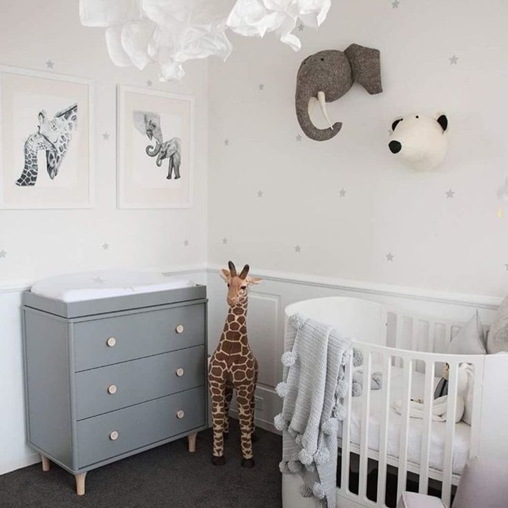 Reach for the stars or the savannah! ⭐   This weeks nursery inspo featuring Leander Cot in white & Babyletto Lolly Dresser in Grey let's you do both! _ #reachforthestars #animalnursery #nurseryinspo #nurserydecor #nurserystyle #nurseryfurniture #cot #babycot #crib #babycrib #dresser #babysleep #baby #babylove #babygear #babystore #babyvillagestore #babyletto #leander #repost  @rozalia_russian  | @leander.furniture  | @babyletto  | @danish_by_design  | @ubabub